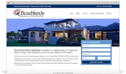 Beachlands Bed & Breakfast