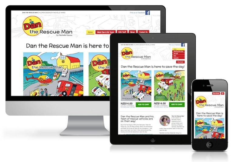 Dan the Rescue Man children's books