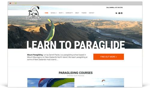 Mount Paragliding